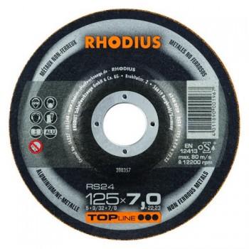 RHODIUS Schruppscheibe RS 24  7,0mm für Aluminium