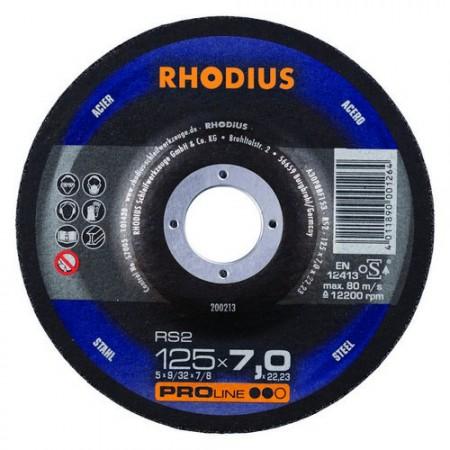 RHODIUS Schruppscheibe RS 2  4-10mm  für Stahl