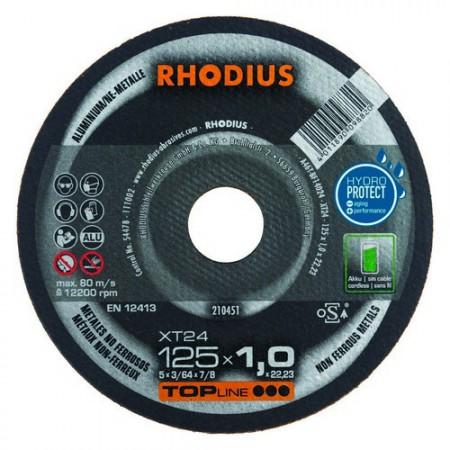 RHODIUS Trennscheibe XT 24  für Aluminium