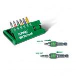 SPAX-BITcheck T-STAR plus inkl. Rapidaptor Display à 10 Stck