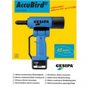Gesipa Blindniet-Setzgeraet AccuBird® Jubiläumsaktion gültig vom 15.07. bis 31.10.2020