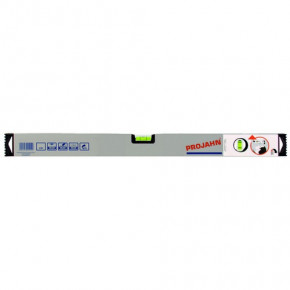 Wasserwaage Plus mit Vertikal-Spiegel-Libelle  80 cm lang