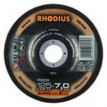 RHODIUS Schruppscheibe RS 28 ALPHA 7,0mm für Stahl und Edelstahl / preiswerte Alternative