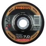 RHODIUS Schruppscheibe RS480 CERAMICON  7,0mm