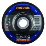 RHODIUS Schruppscheibe RS 67  7,0mm für Stahl