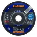 RHODIUS Trennscheibe XT 20 u. XTK 20  für Stahl
