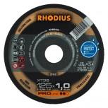 RHODIUS Trennscheibe XT 38 u. XTK 38  für Stahl u. Edelstahl