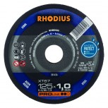 RHODIUS Trennscheibe XT 67 u. XTK 67  für Stahl