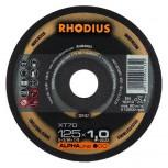 RHODIUS Trennscheibe XT 70 u. XTK 70  für Stahl u. Edelstahl